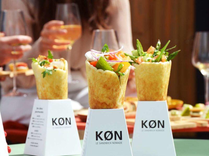 Le KØN : pain à garnir en forme de cône